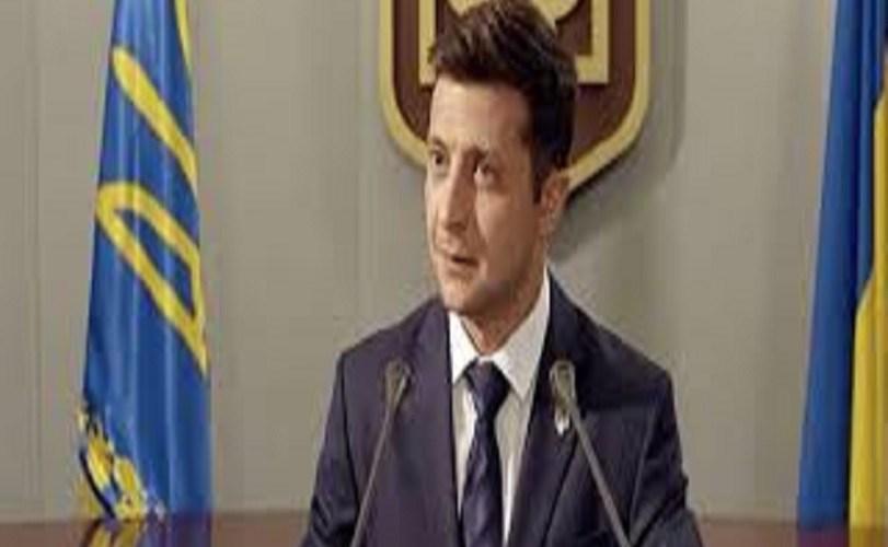 Ukraine inaugurates comedian Zelensky as president