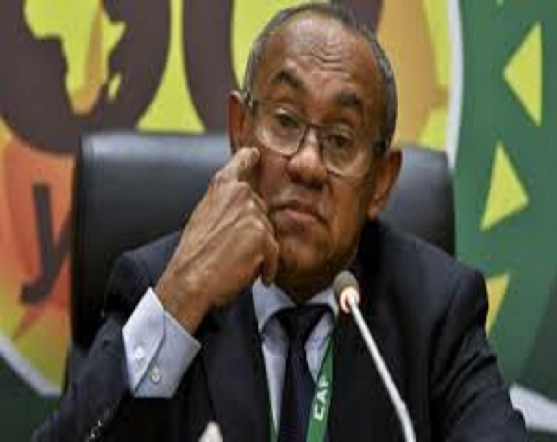 CAF President, Ahmad arrested in France