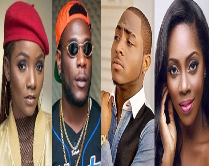 Tiwa Savage, Davido, Burna Boy, Simi Get 2019 AFRIMA Nominations