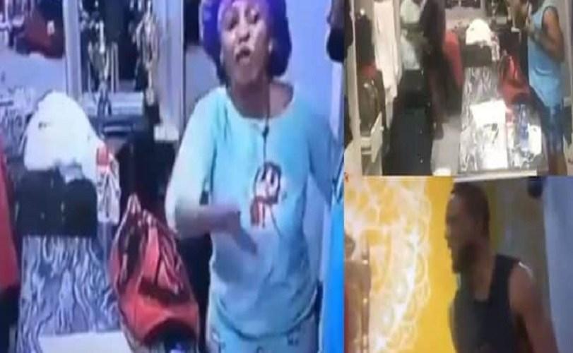 BBNaija 2019: Mercy And Omashola Fight Dirty (Video)