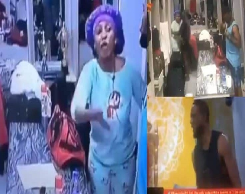 BBNaija 2019: Mercy And Omashola Fight Dirty (Video)