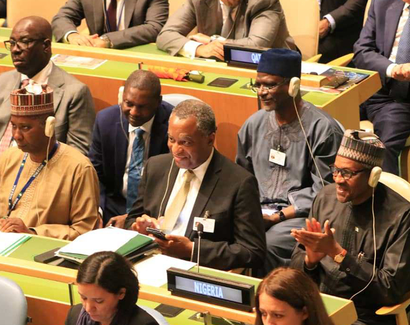 Buhari to UN's Muhammad-Bande: There's heavy weight on you