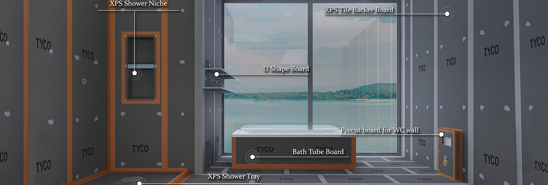 bathroom waterproof panel manufacturers
