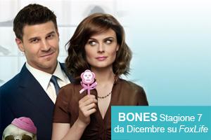 Bones s7 da dicembre su Fox Life