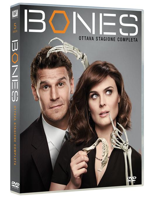Cofanetto dvd dell'ottava stagione di Bones