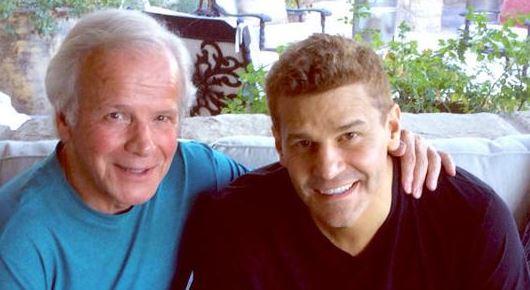 David Boreanaz con il padre Dave Roberts