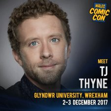 Locandina di TJ Thyne ospite al Wales Comic Con