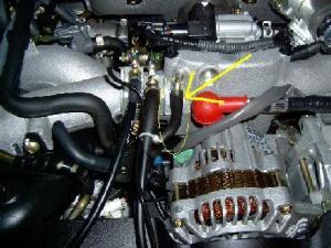 Blitz TT: Vacuum hose for boost gauge  iClub