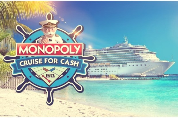 monopoly-cruise Scientific Games and Princess Cruises Award Grand Prize in $200,000 Monopoly Cruise For Cash Promotion