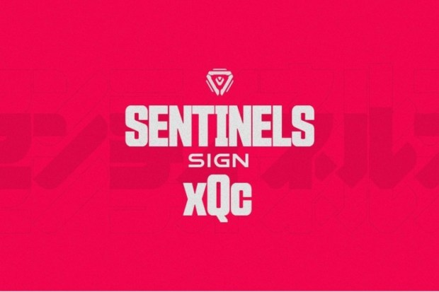 sentinels-singns-xQc Sentinels Sign Overwatch Player and Iconic Streamer xQc
