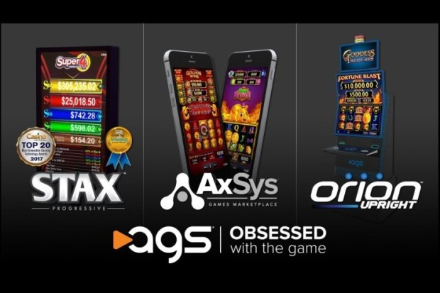 AGS-NIGA-2019 AGS Demonstrates Its Obsession With Tribal Gaming At The NIGA Indian Gaming Trade Show April 3-4; New Orion Upright Cabinet Makes NIGA Debut