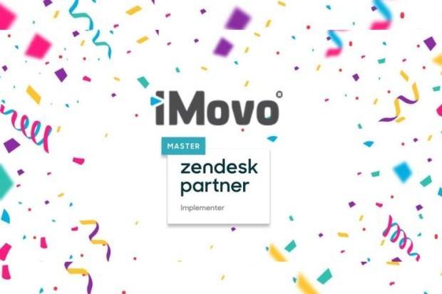 Zendesk-Master-Implementation-Partner iMovo achieves 'Zendesk Master Implementation Partner' status