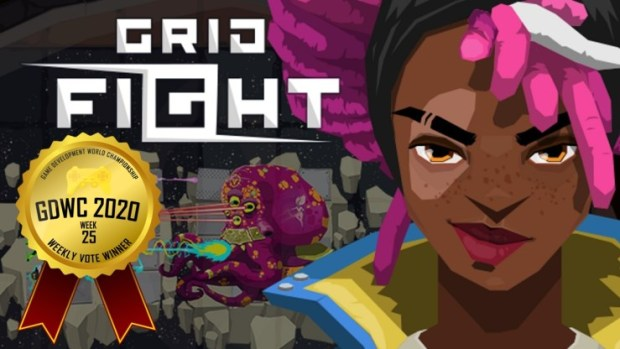 Grid Fight - Mask of the Goddess Stands on Top in the Game Development World Championship Couch Gaming Weekly Vote!