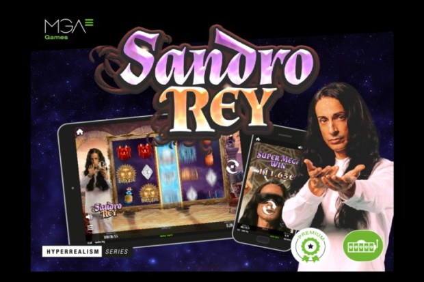 MGA Games launches its latest casino slot production featuring charismatic fortune teller Sandro Rey