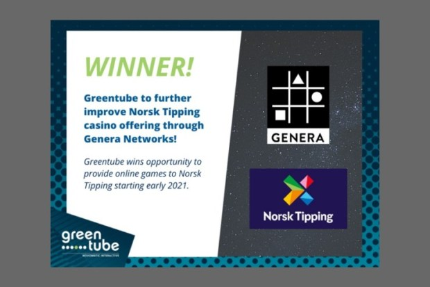 Norsk Tipping improves its casino offering with Genera Networks and Greentube