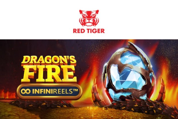 Red Tiger turns up the temperature with Dragon's Fire: InfiniReels™