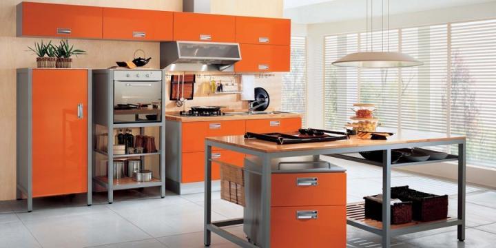 Estimula a tua decoração com a cor laranja