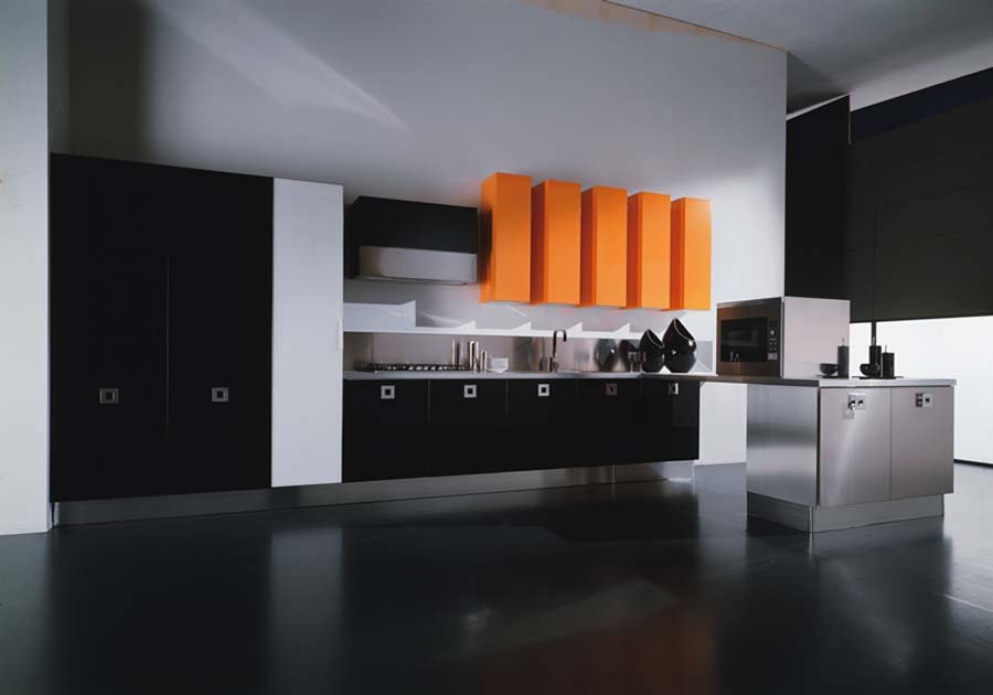 White Contemporary Kitchen Designs