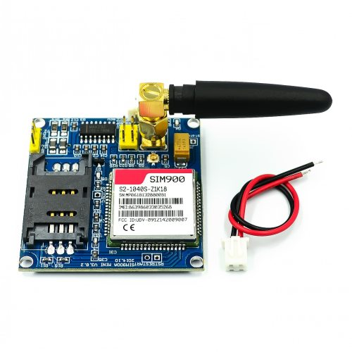 SIM900 V4.0 Kit Wireless Extension Module GSM GPRS Board Antenna for Arduino