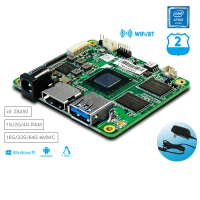 1 pcs x UP Core board Intel computer board with X5-Z8350