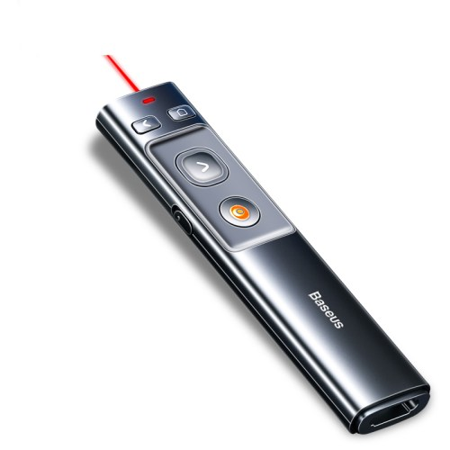 Wireless Infrared Presenter USB& USB C Laser Pen Pointer with Remote Control