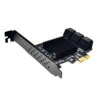 PCI Express SATA 3 Card Expansion Controller HUB Multiplier Port 88SE9215 Chip