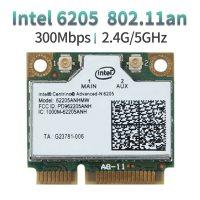 Half Mini PCI-E 300Mbps 2.4/5GHz 802.11n WiFi Card 6205 62205an 62205hmw