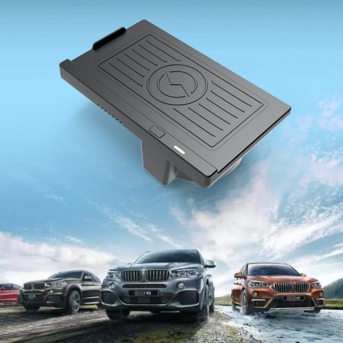 Qi Wireless Phone Charge Pad for BMW 2014-2018 X5 X6 F15 F85 F16 F86 Right-Hand