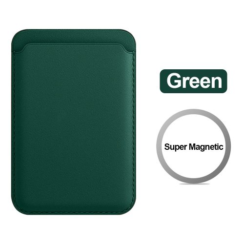 Leather Magnetic Wallet Card Sleeve Pocket Pouch for iPhone 12 Pro Max 12 mini