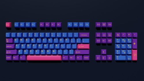 Cherry Profile 160 Olivia Thick PBT Keycaps for MX Switch Mechanical Keyboard