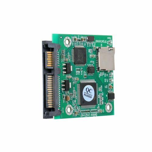 """microSD Card to 22pin SATA Adapter Card 2.5"""" HDD Enclosure TF Cards to SATA"""