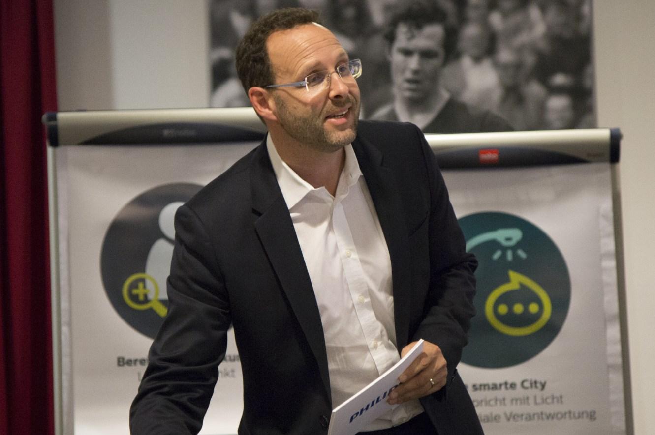 Karsten Vierke, Geschäftsführer Philips Lighting DACH