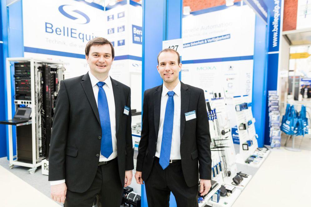 Die BellEquip-Geschäftsführung besteht aus Martin Hinterlehner und DI (FH) Günther Lugauer.
