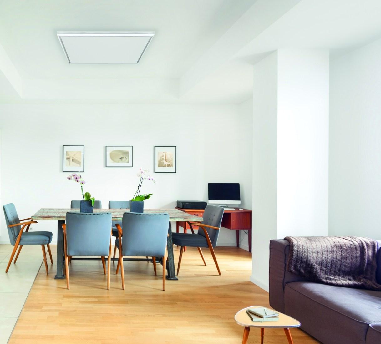 Jetzt als Aktionsset: Infrarotpaneel und LED-Lichtrahmen (Bild: easyTherm/iStockphoto)