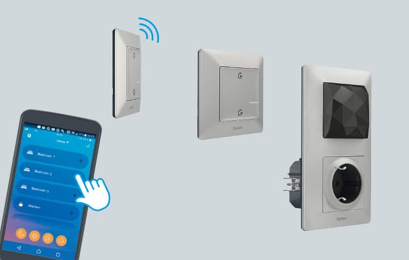 Bleiben Sie vernetzt - mit den Produkten von Valena Life with NETATMO, dass offene und zukunftsorientierte Hausautomationssystem auf Funkbasis in Zigbee Technologie. (Bild: Legrand)