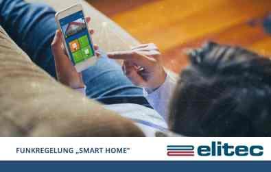 Energie, Heizkosten und Zeit sparen mit der smarten Regeltechnik von elitec! (Bild: elitec, shutterstock)