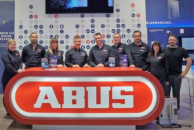 Das Team von Abus Austria am Fachhandelstag. (Bild: Abus)