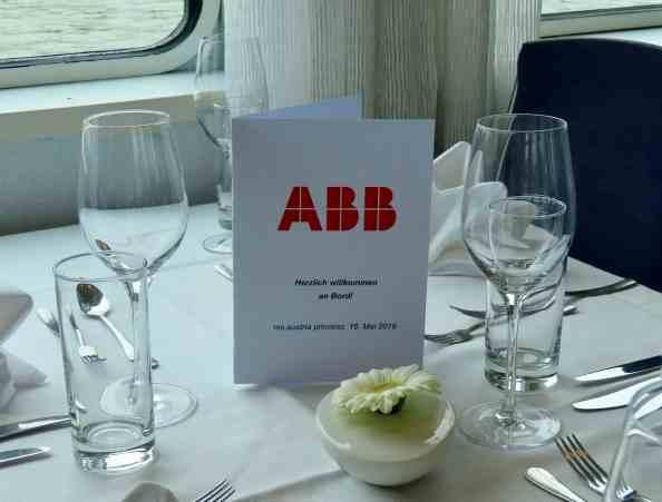 Das Team der ABB Österreich lud zu einem informativen Nachmittag auf der MS Austria Princess ein. (Bild: ABB AG)