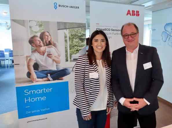 Präsentiert wurde das aktuelle Portfolio aus dem Bereich Smart Buildings. (Bild: ABB AG)