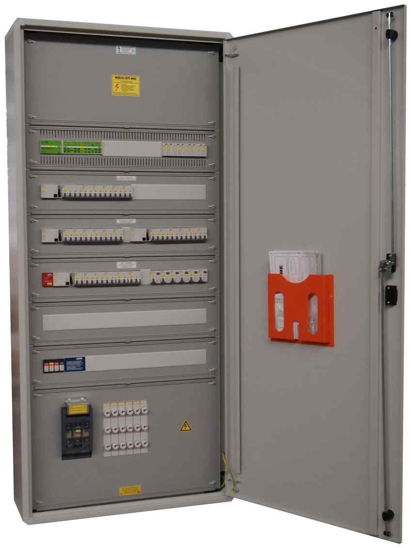 Die Schränke bzw. Schranksysteme wurden von Mehler Elektrotechnik gemeinsam mit den externen Partnern und Prüflabors gemäß der Änderung der Schaltschrankvorschrift EN61439 angepasst. (Bild: Mehler)