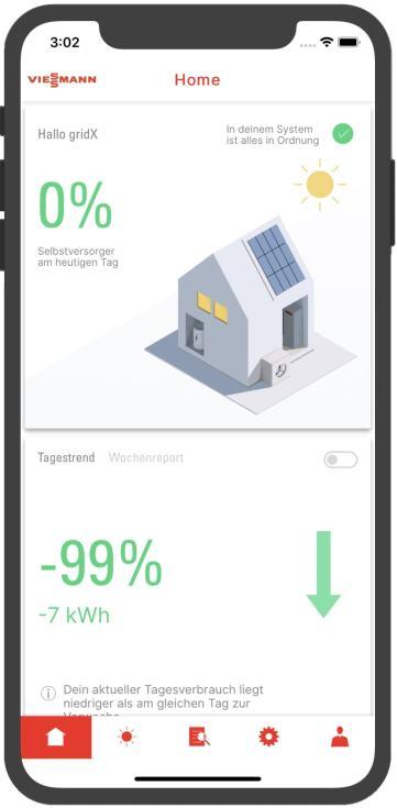 GridBox App fürs Handy