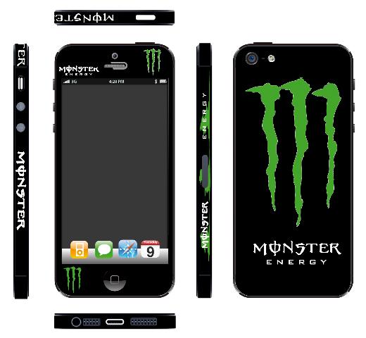 iPhone5_monster-energy skin imania