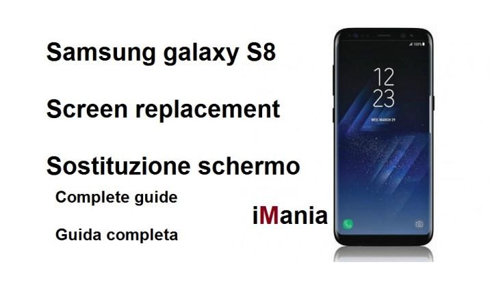 galaxy s8 sostituzione schermo varese iMania