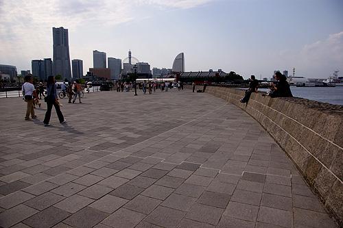 大桟橋あたりの写真