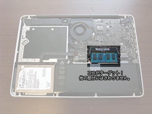 MacBook Proメモリ増設