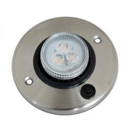 rv interior light 12v led recessed ceiling lights directional lighting with switch bright white 4000k