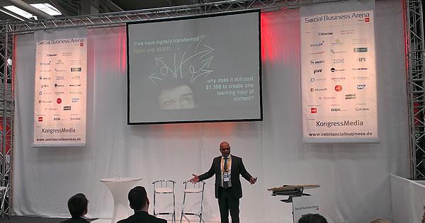 Transformación digital - un largo camino por recorrer, dice Sameer Patel SAP en el CeBIT 2014 - foto JP De Clerck
