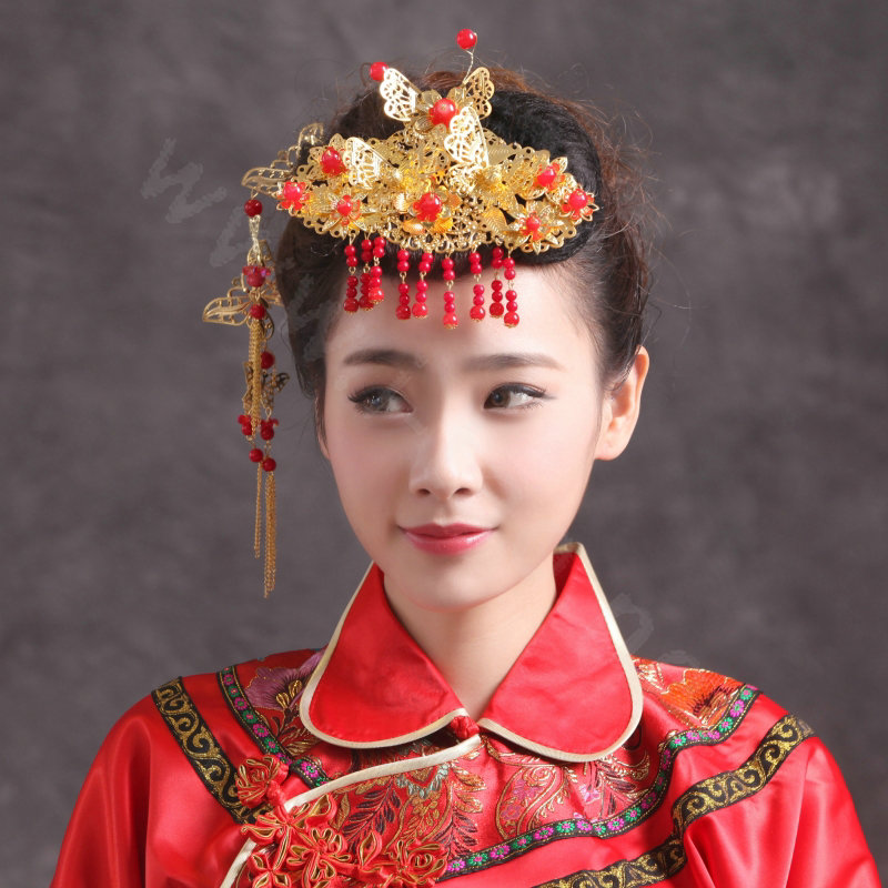 Buy Wholesale Simple Bride Chinese Style Costume Tassel