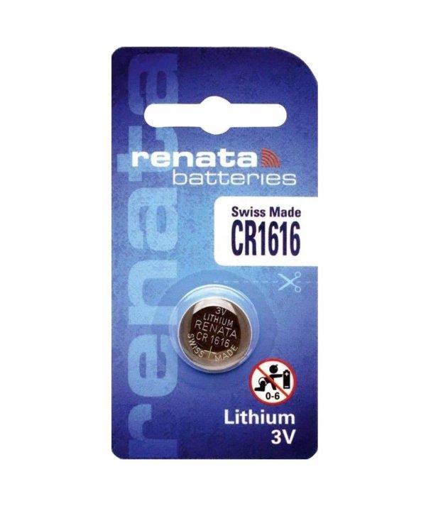 Renata 3V Lithium Coin Cell Battery CR1220 1