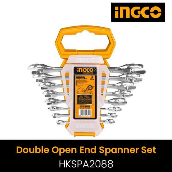 Ingco Double open end spanner set HKSPA2088
